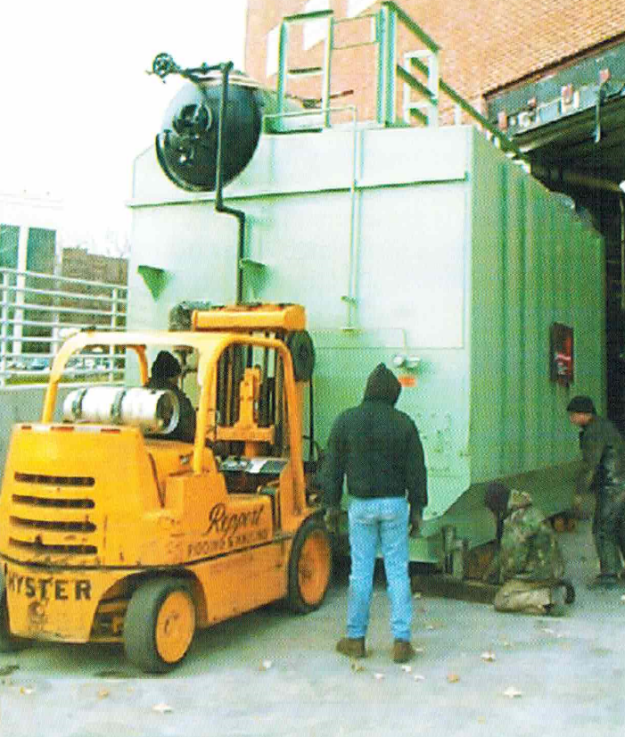 Heavy Equipment Installation
